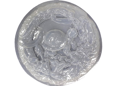 Turtle concrete stepping stone mold 1261