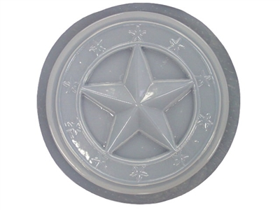 Star concrete stepping stone mold 1264