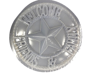 Welcome Star Concrete mold 1269