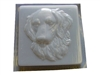 Golden Retriever concrete mold 1272