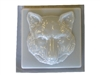 Wolf concrete stepping stone mold 1282
