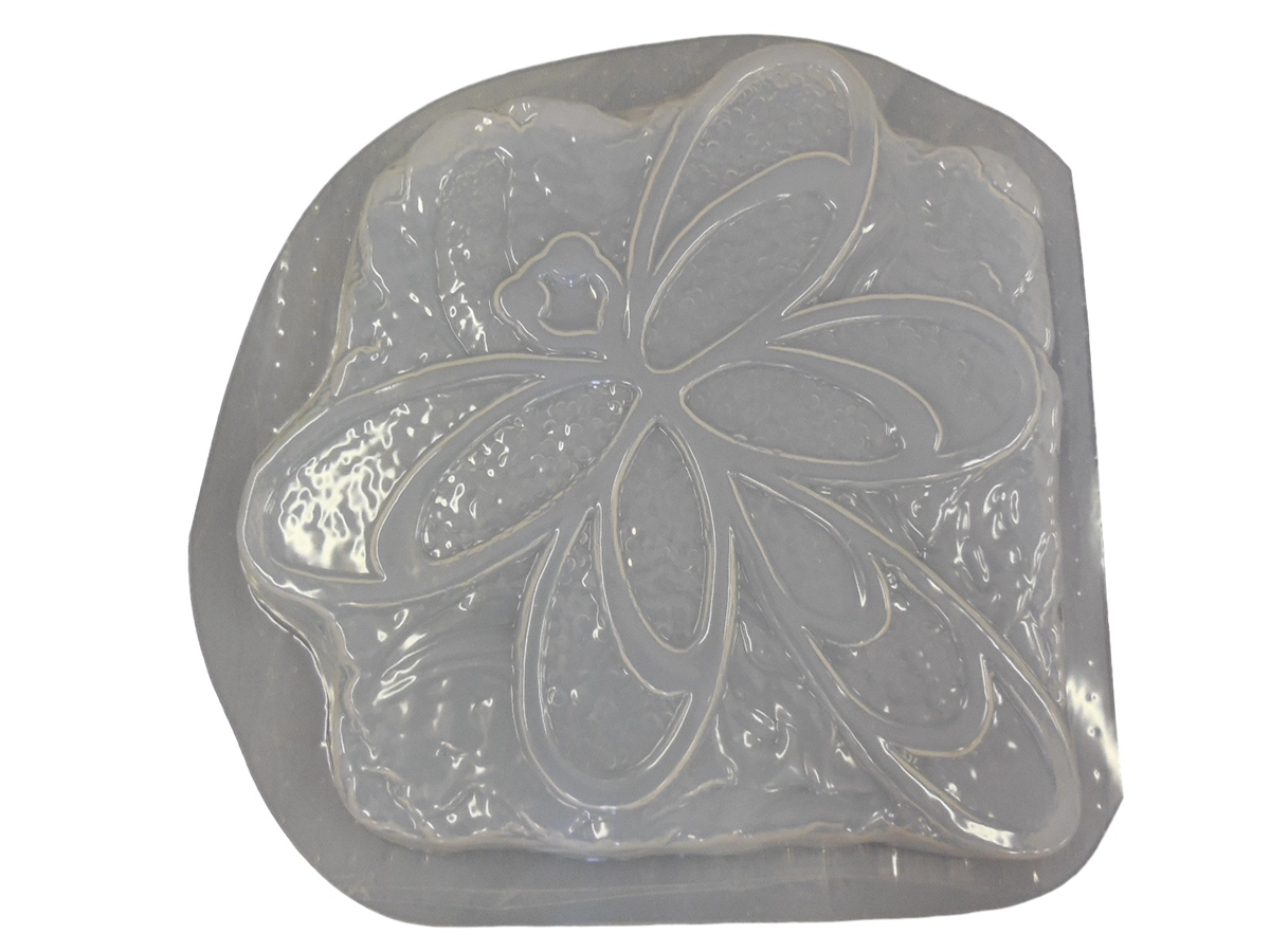 Stone Look Dragonfly Stepping Stone Plaster or Concrete Mold 1288 Moldcreations