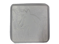 Horse Concrete Stepping Stone Mold 1289
