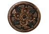 Decorative floral concrete stepping stone mold 1300
