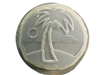 Palm Tree concrete stepping stone mold 1302