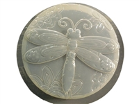 Dragonfly concrete stepping stone mold 1320