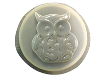 Owl Concrete Stepping Stone Mold 1335