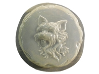 Yorkie Dog Concrete Mold 1338
