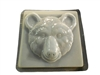 Bear head concrete or plaster mold 1341
