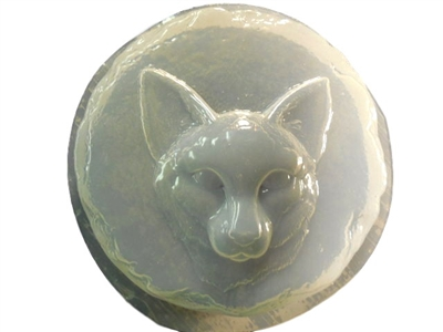 Cat Concrete Stepping Stone Mold 1346