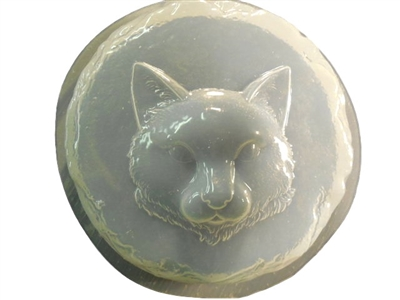 Cat Concrete Or Plaster Stepping Stone Mold 1347