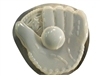 Baseball glove concrete or plaster mold 1349