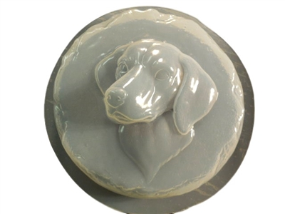 Dalmatian Dog Concrete Mold 1350