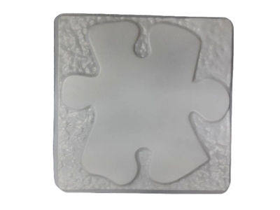 Awareness Support Ribbon Stepping Stone Concrete Mold 1295 Moldcreations