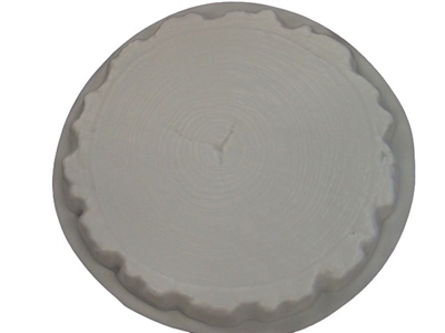 Log end Concrete Stepping Stone Mold 2012