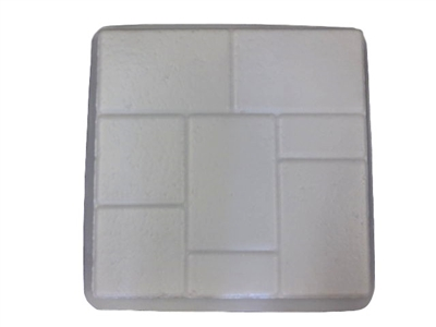 Brick Design Concrete Stepping Stone Mold 2013