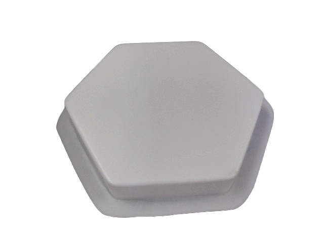 9 1 4in Plain Hexagon Concrete Stepping Stone Mold 2034