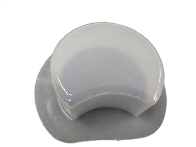 Crescent Concrete Stepping Stone Mold 2045