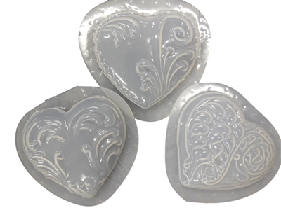 Hearts Soap or Magnet Mold 4501