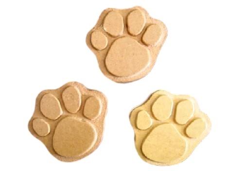 Dog Cat Paw Print Soap Mold Set 4502