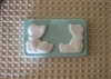 Country Boy & Girl Soap Mold 4519