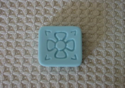 Flower Design Soap Mold 4523