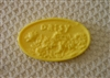 Daisy Oval Bar Soap Mold 4533