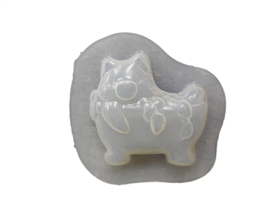 Pig in a Tub Soap Mold 4546