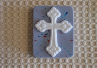 Cross Soap Mold 4612
