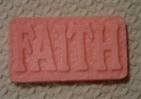 Faith Soap Mold 4634