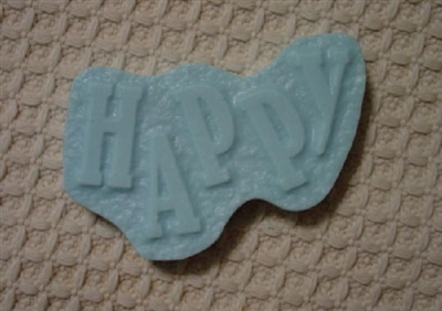 Happy Soap Mold 4647