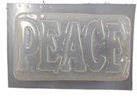 Peace Soap Mold 4654