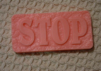 Stop Soap Mold 4655