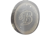 B Monogram Letter Soap Mold 4684