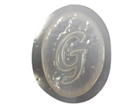 G Monogram Letter Soap Mold 4689