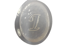 I Monogram Letter Soap Mold 4691