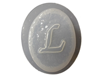 L Monogram Letter Soap Mold 4694