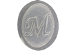 M Monogram Letter Soap Mold 4695