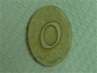 O Monogram Letter Soap Mold 4697