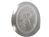 R Monogram Letter Soap Mold 4700