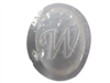 W Monogram Letter Soap Mold 4705