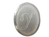 Y Monogram Letter Soap Mold 4707