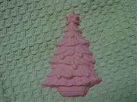 Christmas tree soap or plaster mold 4719