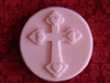 Cross Heart Soap Mold 4729