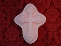 Cross Heart Soap Mold 4731