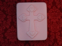 Cross Heart Soap Mold 4733