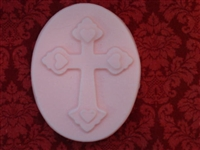 Cross Heart Soap Mold 4734