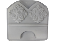Floral Edging border concrete Mold 5000