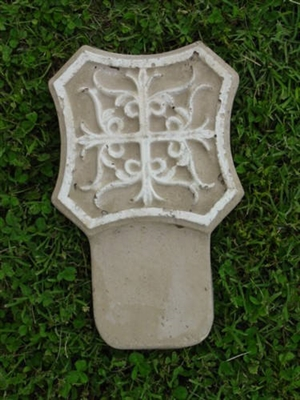 Floral Border Concrete Mold 5003