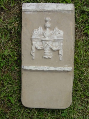 Roses Border Edging Stepping Stone Plaster or Concrete Mold 7122 Moldcreations